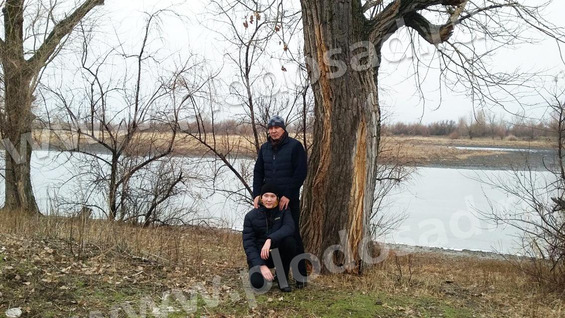 Кайрат с сыном