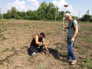Нанесение координат будущего сада
