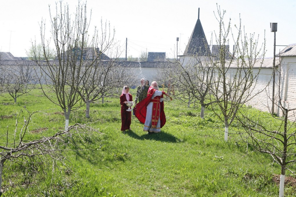 Вознесенский Оршин монастырь. День память Георгия Победоносца. Крестный ход