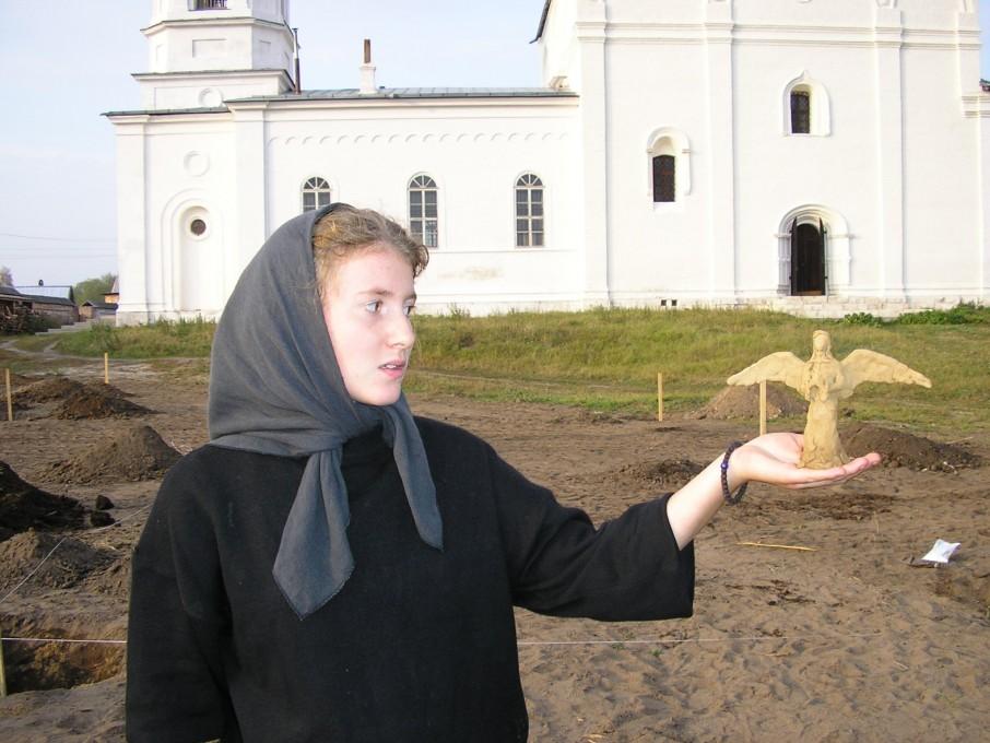 Вознесенский Оршин монастырь. И у сада появился Ангел-хранитель...