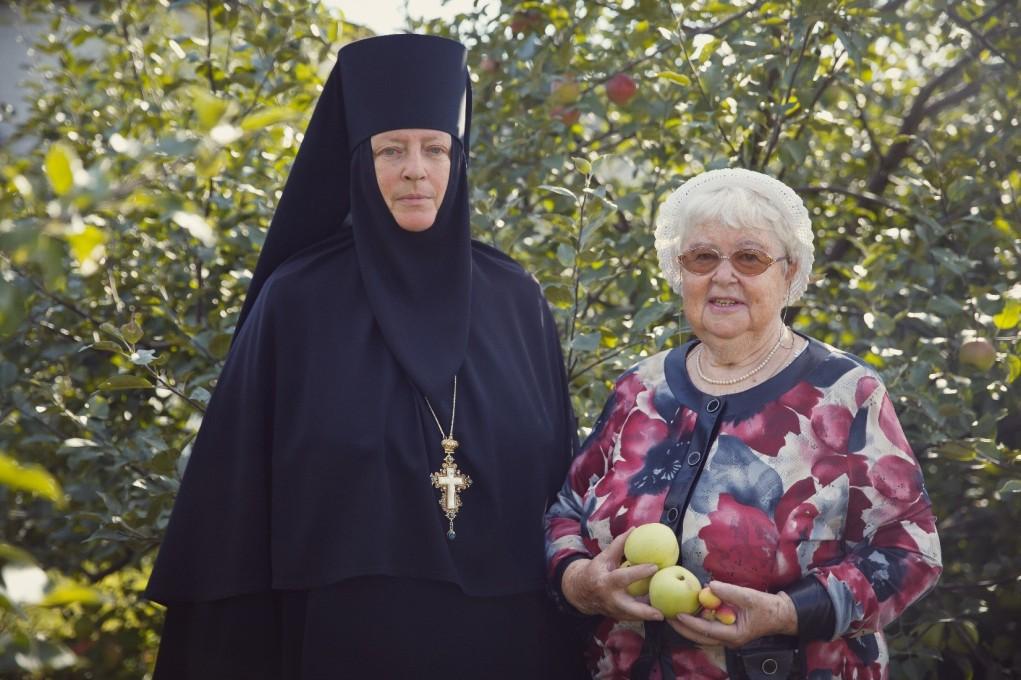 Вознесенский Оршин монастырь. С настоятельницей монастыря