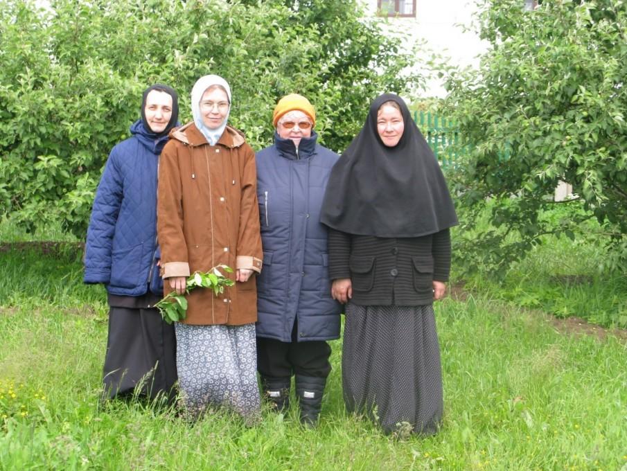 Вознесенский Оршин монастырь. С садоводами тверских монастырей