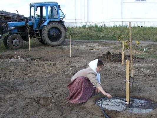 Вознесенский Оршин монастырь. Сад сажали тщательно