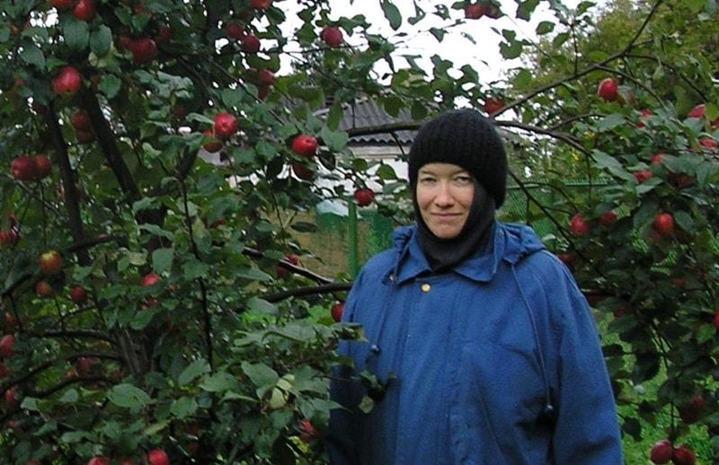 Первый садовод - инокиня Ольга