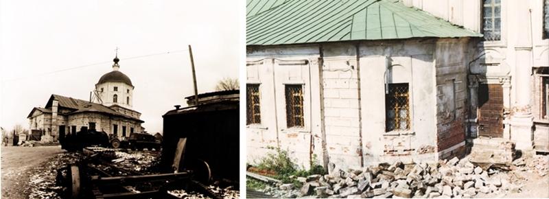 Развалины Свято-Екатерининского монастыря